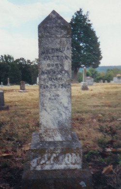 Mildred A. <I>Tinsley</I> Patton