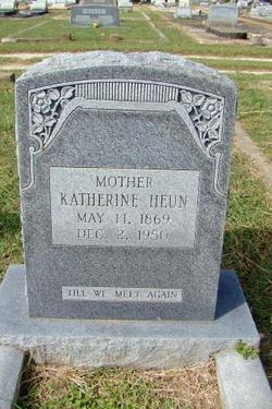 Katherine <I>Spangenberg</I> Heun