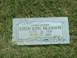Edith Lee <I>King</I> Brannon