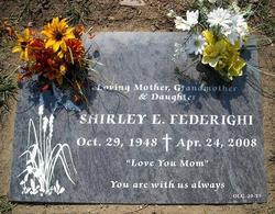 Shirley Edith <I>Howe</I> Federighi