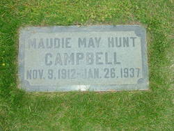 Maudie May <I>Hunt</I> Campbell