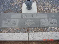 """John William """"Tots"""" Baird"""