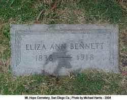 Eliza Ann Bennett