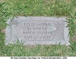 Ellis Owen Bennett