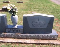 Herbert N. Riddle