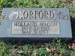 Holland Macon Norford, Sr
