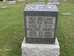 Rev William Haldeman Krieble