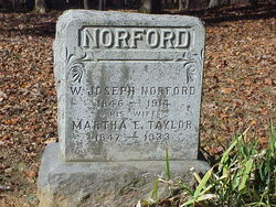Martha Ella <I>Taylor</I> Norford