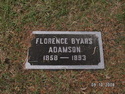 Florence <I>Byars</I> Adamson