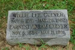 """William Lee """"Willie"""" Culver"""