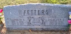 Elizabeth H. <I>Thayer</I> Fetters