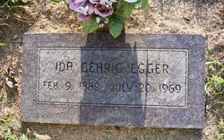 Ida <I>Gehrig</I> Egger