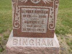 Harriet A <I>Edwards</I> Bingham