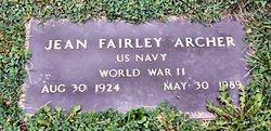 Jean Fairley Archer