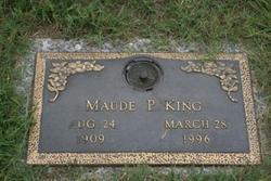 Maude Carrier <I>Pickett</I> King