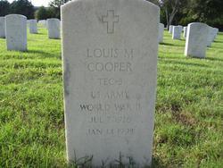 Louis M Cooper