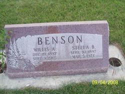 Willis Alma Benson