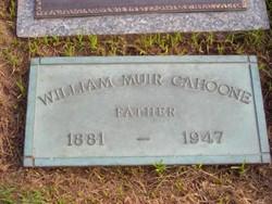 William Muir Cahoone