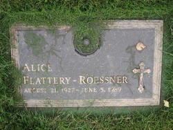 Alice <I>Flattery</I> Roessner