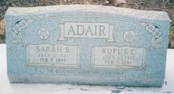 Sarah Belle <I>Roberts</I> Adair