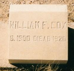 "William Franklin ""Singer"" Cox"