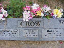"Sarah Elmeda ""Meda"" <I>Breshears</I> Crow"