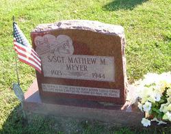SSGT Mathew M Meyer