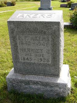 Harriet Josephine <I>Banister</I> Akers