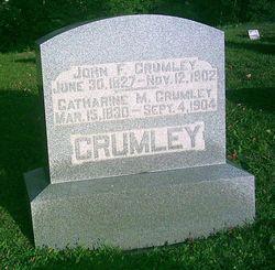 Catharine M. <I>Miller</I> Crumley