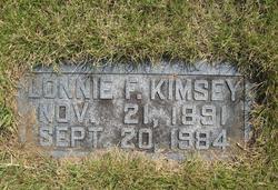 Lonnie F. Kimsey