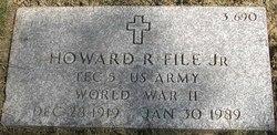 Howard R File, Jr