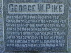 George W Pike
