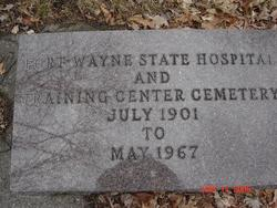 Fort Wayne State Hospital Cemetery