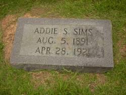 Addie S. Sims