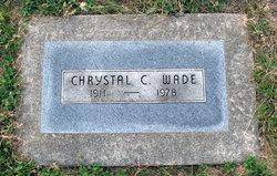 Chrystal Carrie <I>Church</I> Wade