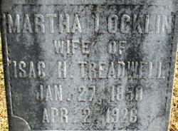 Martha Z <I>Locklin</I> Treadwell
