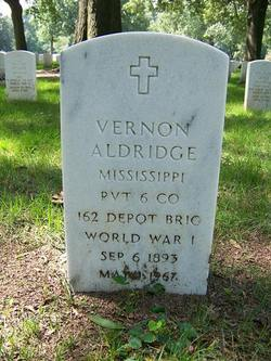 Vernon Aldridge