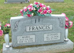 Mabel <I>King</I> Francis