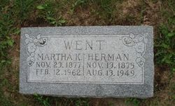 Martha Kathryn <I>Rickert</I> Went