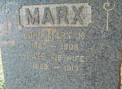 Kate <I>Stedler</I> Marx