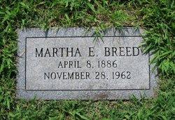 """Martha Elizabeth """"Mattie"""" <I>Sparr</I> Breed"""