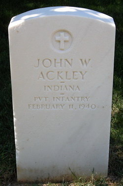PVT John W Ackley
