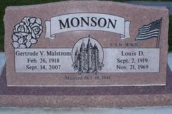 Louis D Monson