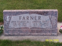 Flora Loretta <I>Cottle</I> Farner