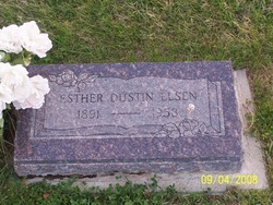 Esther Dustin Elsen