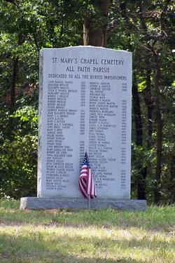 Saint Marys Chapel Cemetery
