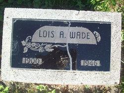 Lois Aquilla <I>Rine</I> Wade
