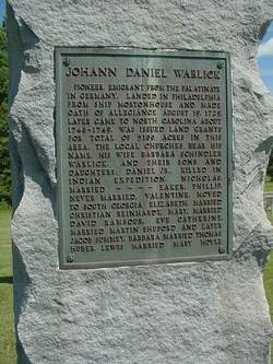 Johann Daniel Warlick Sr.