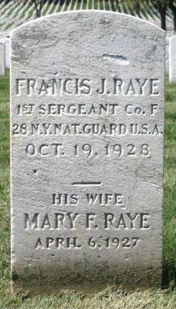Mary F Raye