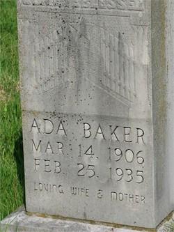 Ada <I>Nix</I> Baker